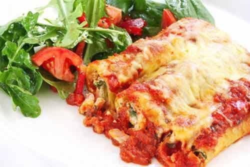 Gefüllte Cannelloni al Forno